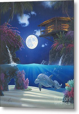 Journey In Paradise Metal Print