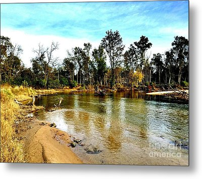 Journey To The Rivers Bend Metal Print