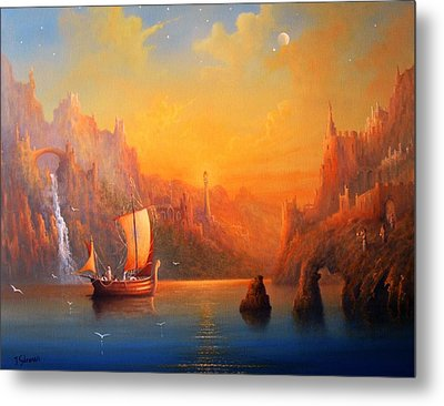 Journey To The Undying Lands Metal Print by Joe  Gilronan