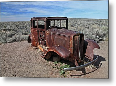 Metal Print featuring the photograph Journey's End by Gary Kaylor