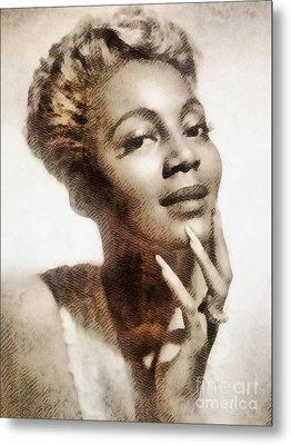 Joyce Bryant, Vintage Singer And Actress Metal Print