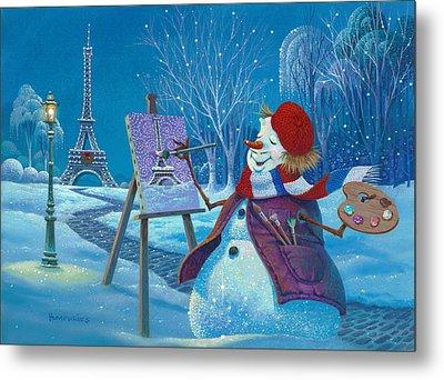 Joyeux Noel Metal Print by Michael Humphries