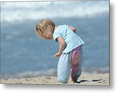 Metal Print featuring the photograph Joys Of Childhood by Fraida Gutovich