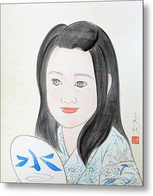 Jozen Mizu No Gotoshi Metal Print