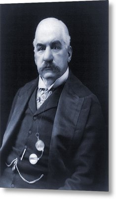 J.p. Morgan 1837-1913 American Banker Metal Print by Everett