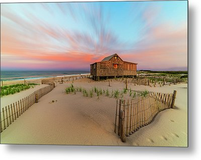 Judges Shack Nj Shore Metal Print