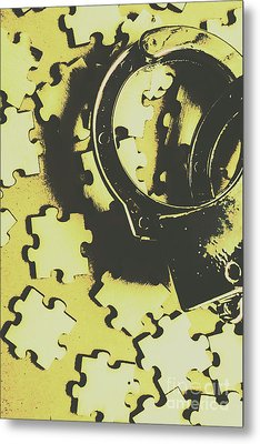 Judicial Jigsaw Metal Print by Jorgo Photography - Wall Art Gallery