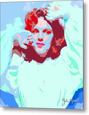 Judy Garland Metal Print by John Keaton