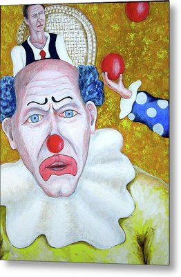 Jugglers And Clowns Metal Print by Don Gentle