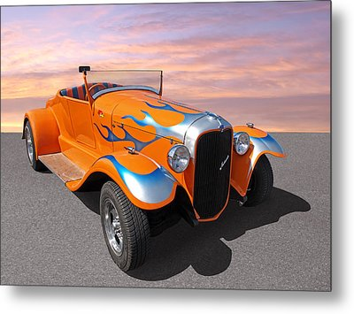 Juiced Metal Print by Gill Billington