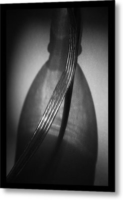 jul 18, 2016, Bottle And Shadow, Metal Print
