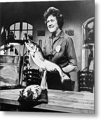 Julia Child (1912-2004) Metal Print