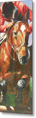 Jumper Metal Print by Mary McInnis