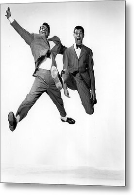 Jumping Jacks, Dean Martin, Jerry Metal Print by Everett