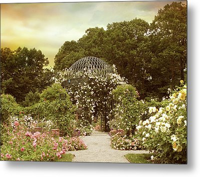 June Bloom Metal Print by Jessica Jenney