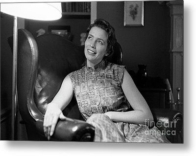June Carter, 1956 Metal Print by The Harrington Collection