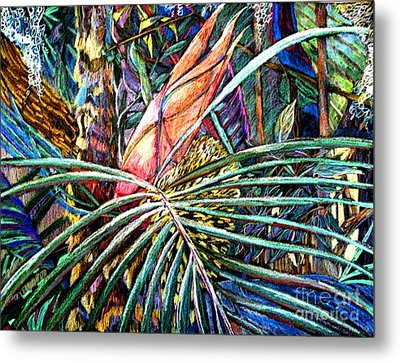 Jungle Fever Metal Print by Mindy Newman
