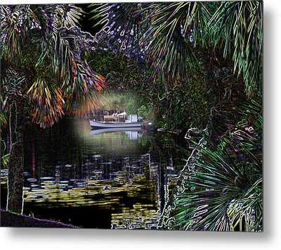 Jungle Glow Metal Print
