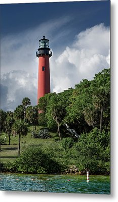 Jupiter Inlet Lighthouse Metal Print