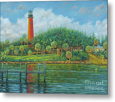 Jupiter Lighthouse Metal Print by Danielle Perry