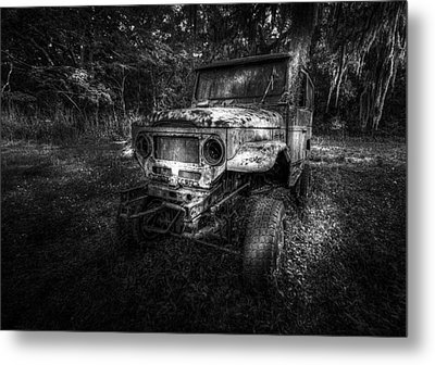 Jurassic Four Wheeler Metal Print by Marvin Spates