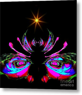 Just A Little Bit Abstract Metal Print by Blair Stuart