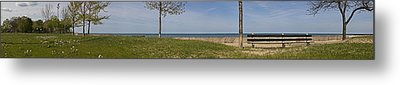 Just A Summer Day At The Park Metal Print