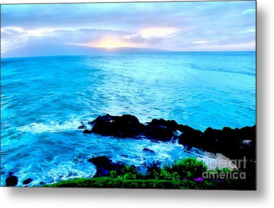 Just Another Day In Paradise Metal Print by Krissy Katsimbras