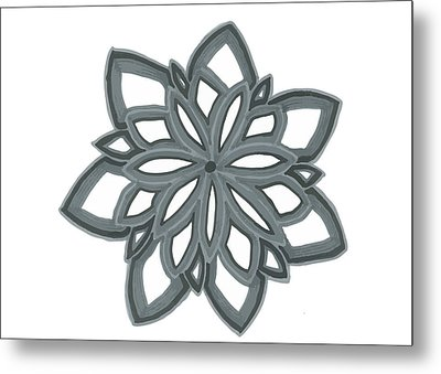 Just Another Flower Metal Print