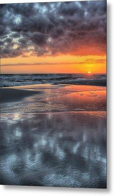 Just Another South Baldwin Sunset Metal Print
