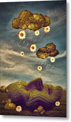 Just Another Summer Rainy Day Metal Print