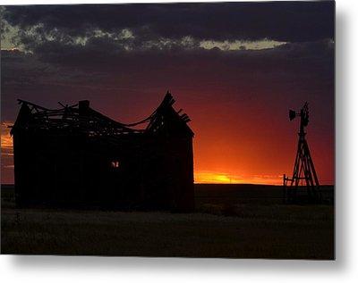 Just Before Sunrise Metal Print by Clarice  Lakota