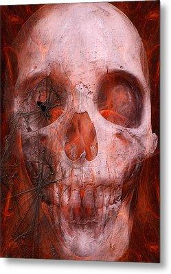 Just Grining Metal Print by Jean Gugliuzza
