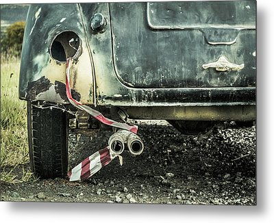 Just Married? Metal Print