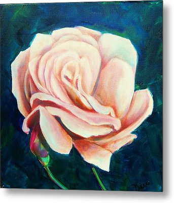 Just Peachy Metal Print by Dana Redfern