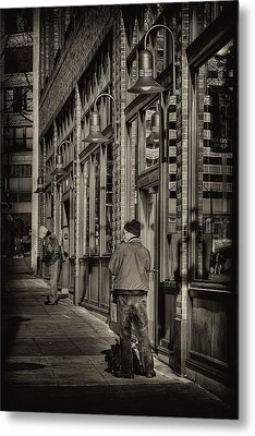 Just Waiting Metal Print by David Patterson