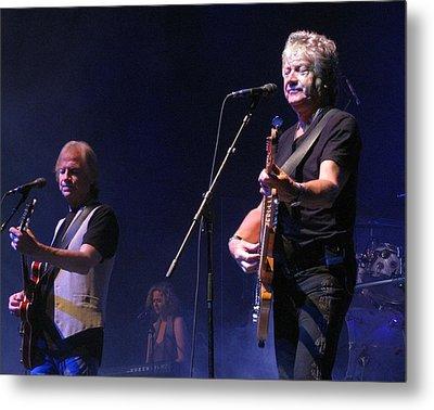 Justin And John Of The Moody Blues Metal Print