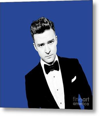 Justin Timberlake Metal Print