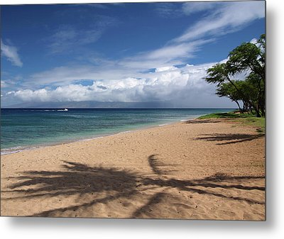Metal Print featuring the photograph Ka'anapali Beach - Maui by Rau Imaging