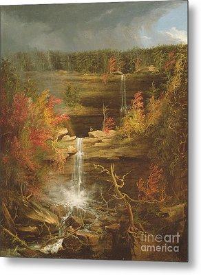 Kaaterskill Falls Metal Print by Thomas Cole