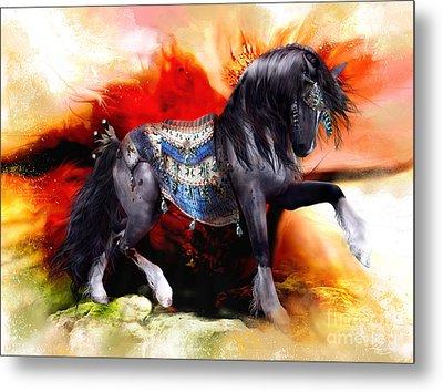 Kachina Hopi Spirit Horse  Metal Print