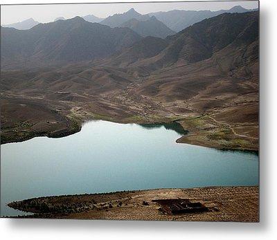 Kajaki Lake In Helmand Province Afghanistan Metal Print