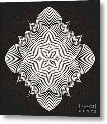 Metal Print featuring the digital art Kal - 71c89 by Variance Collections