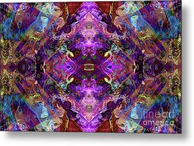 Kaleidoscope Metal Print by Tlynn Brentnall