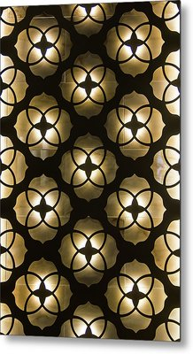 Metal Print featuring the photograph Kaleidoscope Wall by April Reppucci