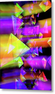 Kaleidoscopic Mind Metal Print by Az Jackson