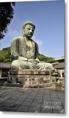 Kamakura Buddha Metal Print by Andy Smy