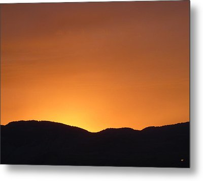Kamloops Sunset 1 Metal Print