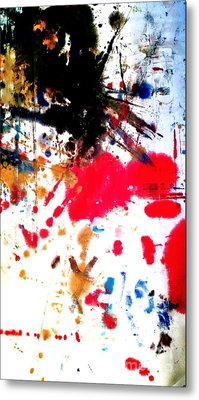 Kamor Abstract Metal Print