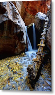 Kanarra Metal Print by Chad Dutson